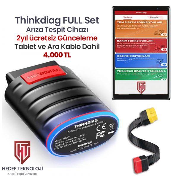 Thinkdiag Arıza Tespit Cihazı TABLET Dahil SET