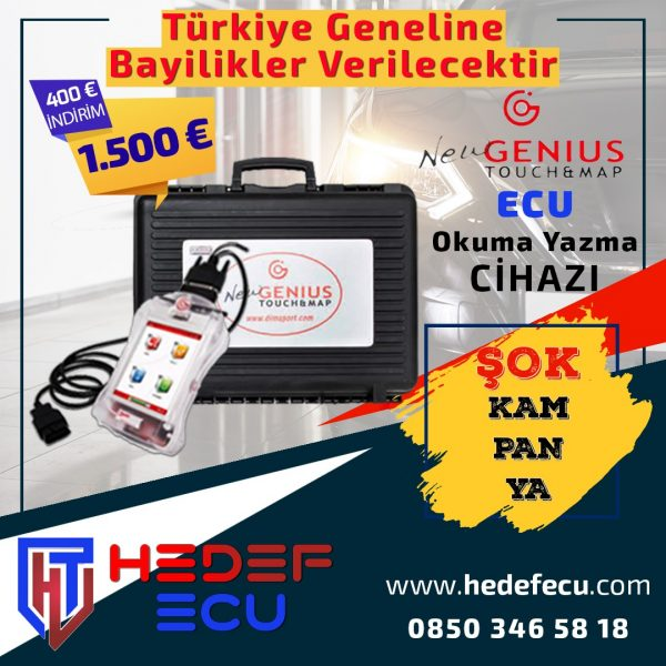 New Genius Touch – Map Ecu Okuma ve Yazma Cihazı