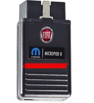 Witech Micropod2 Fiat Arıza Tespit Cihazı